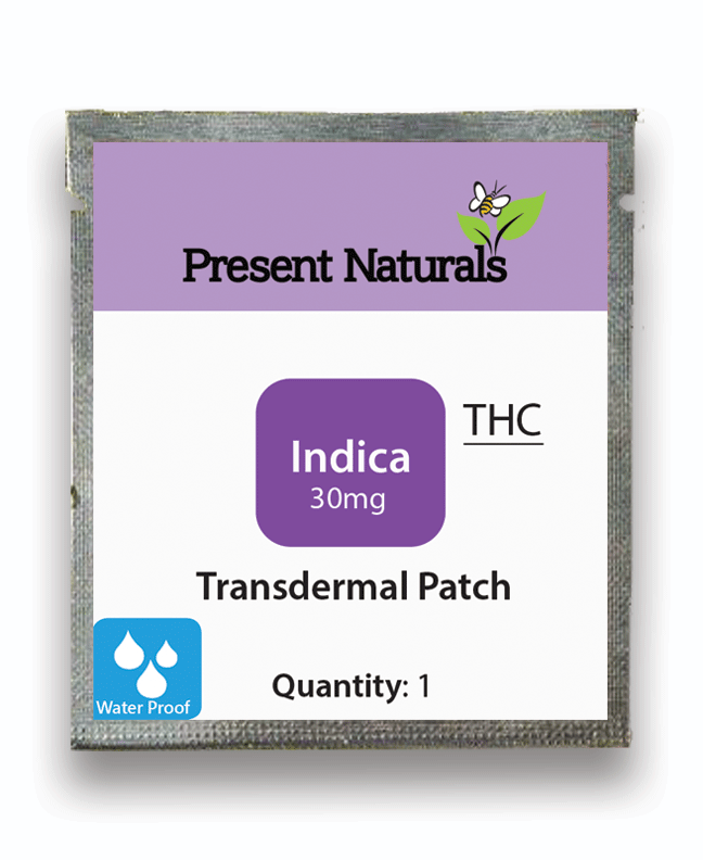 THC Transdermal Patches - Present Naturals